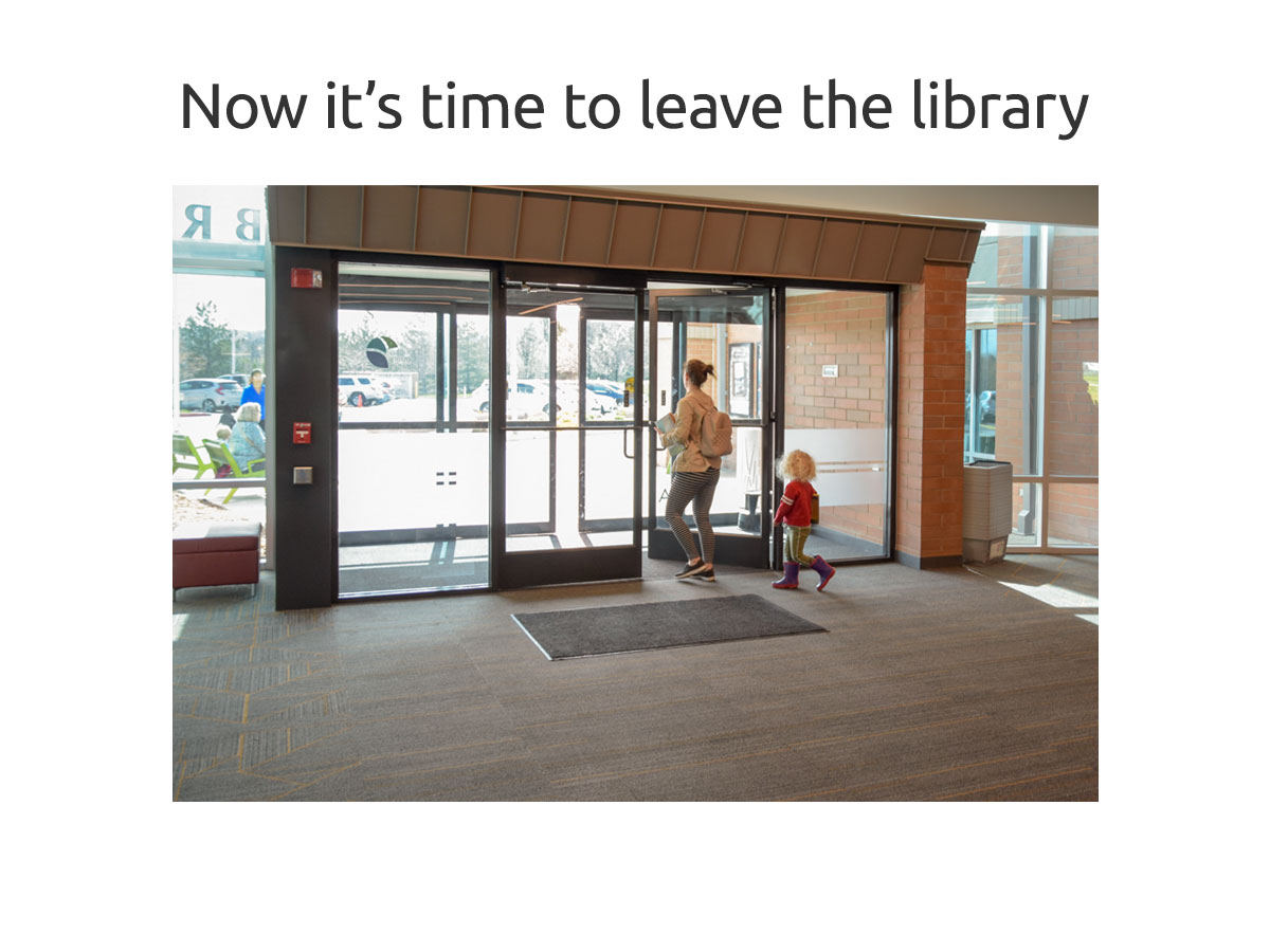 Leaving the Library